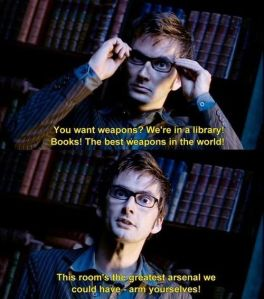 books best weapons